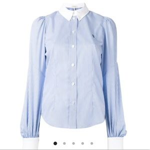 NWT Marc Jacobs Bishop Sleeve Button Down